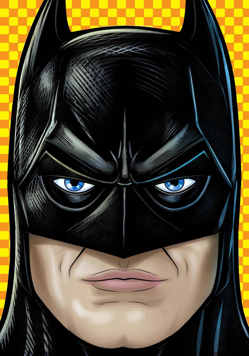 Keaton Batman by Thuddleston