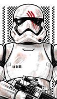 Stormtrooper FINN by Thuddleston