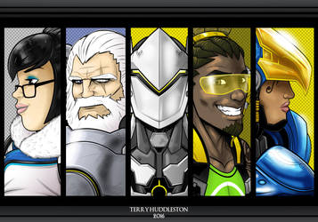 Overwatch by Thuddleston