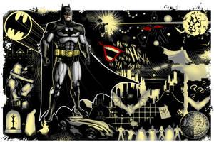Batman Premium Commission by Thuddleston