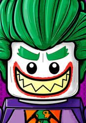 Lego Joker by Thuddleston