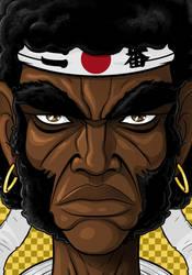 Afro Samurai by Thuddleston