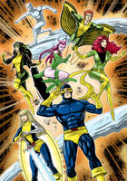 X-men Commission by Thuddleston