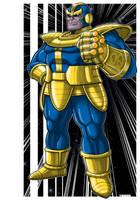 Thanos DBZ Mashup by Thuddleston