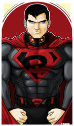 Superman RED SON ICON by Thuddleston