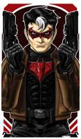 Red Hood Jason Todd by Thuddleston