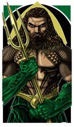 Aquaman Tattoo ICON by Thuddleston