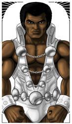 Tyroc Legion of Superheroes Commission by Thuddleston