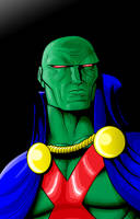 Martian Man-Hunter by Thuddleston
