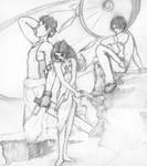 The Trio by EzeKeiL