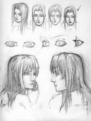 Jessica Hear - Face by EzeKeiL