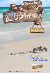 Poster for Blue Crab Festival by EzeKeiL