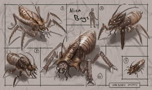 Alien Bugs by guang2222