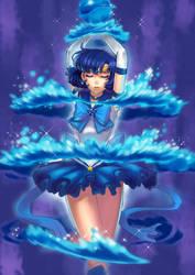Sailor Mercury by yukiusagi1983