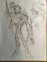 Necrocarnage redesign by Multiomniversal124