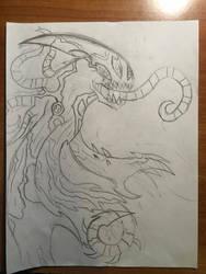 Terrormorph (ghostfreak + symbiote + chamalien) by Multiomniversal124