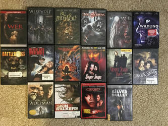 My Monster movie collection part 1 by Multiomniversal124