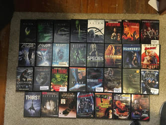 my monster movie collection part 2 by Multiomniversal124