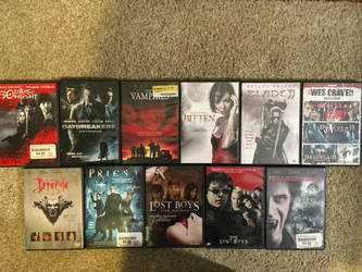 My horror movie collection part 3 by Multiomniversal124