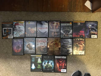 My monster movie collection part 4 by Multiomniversal124