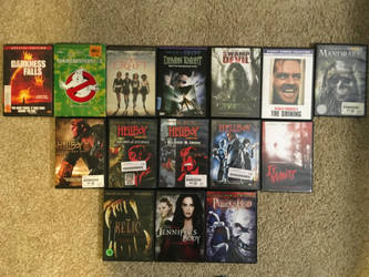 My monster movie collection part 6 by Multiomniversal124