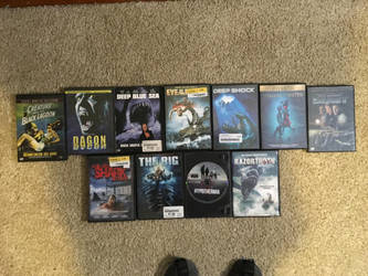 My monster movie collection part 7 by Multiomniversal124
