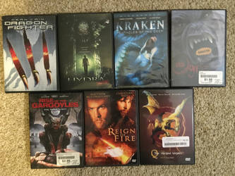 my monster movie collection part 8 by Multiomniversal124