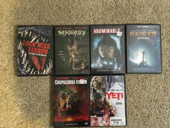 My monster movie collection part 10 by Multiomniversal124