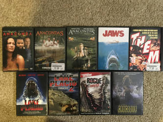 My monster movie collection part 11 by Multiomniversal124