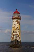 Talacre Lighthouse by hanimal60
