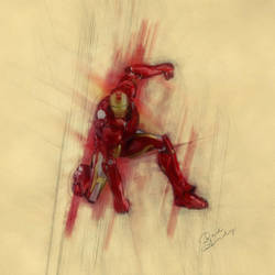 Iron Man by Badandy47