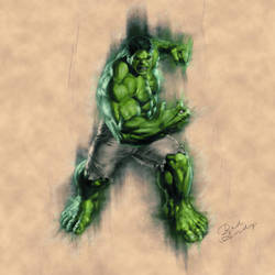 The Hulk by Badandy47