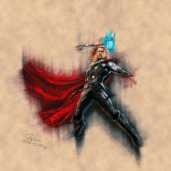 Thor by Badandy47