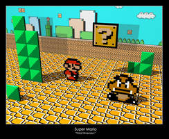 Super Mario - Third Dimension by exs