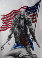 Connor Kenway by andrewUA