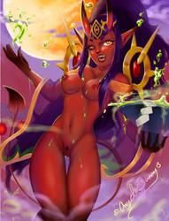 siren NSFW by Angel-Bunny-Studios