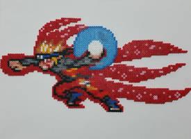 Naruto Kyubi Sharingan Perler by ActionPrimePerlers
