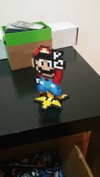 Mario Perler 3D by ActionPrimePerlers