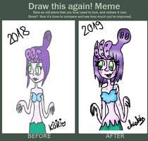Redraw Meme by catycarolite223