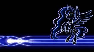 Luna Glow Wallpaper by SmockHobbes