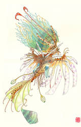 Lionfish Mermaid by Chonunhwa