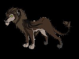 Scrawny Lion Adopt [Closed] by Sukida-Adopts