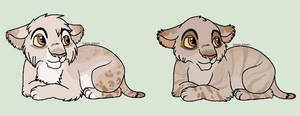 Cubs for Podnion by Sukida-Adopts