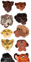 CLOSED Headshot Adopts by Sukida-Adopts
