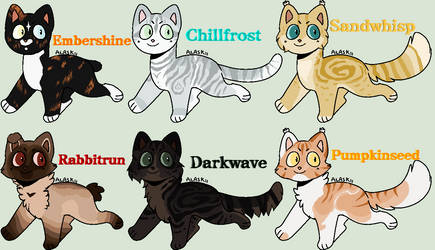 OPEN - Breedable Cats by Sukida-Adopts