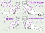 Feline Lines - P2U 40 pts by Sukida-Adopts