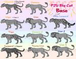 P2U Big Cat Base - PSD/PNG by Sukida-Adopts