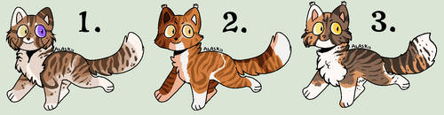 Closed - Pumpkinseed Litter #23 by Sukida-Adopts