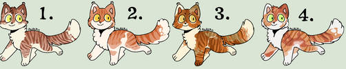 Pending - Pumpkinseed Litter #24 by Sukida-Adopts