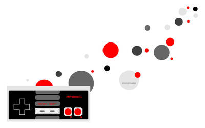 NES controller by Mineharu